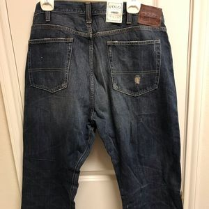 Polo vintage 5 pocket button fly jeans